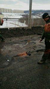 За прошедшую неделю отремонтировано 772 кв.м дорожного полотна