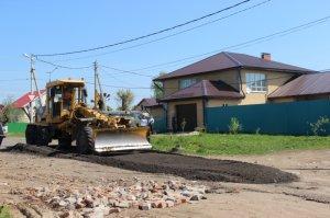 С 15-го мая начат ремонт дорог частного сектора