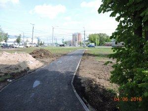 Свыше 13 тыс. кв. м. тротуаров будут отремонтированы и построены в 2018 г.