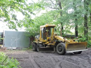 Продолжается ремонт дорог частного сектора