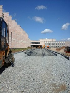 АО «Дорэкс» выполняет работы по благоустройству Кадетского парка