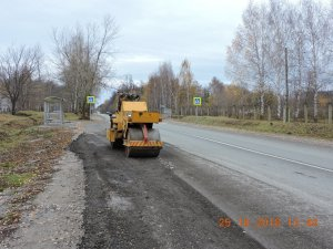 Работы на Алатырском шоссе