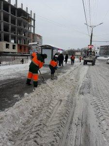 Снегоуборочные работы ведутся в круглосуточном режиме
