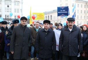 Коллектив предприятия принял участие в фестивале-концерте «Крымская весна», посвященный воссоединению Крыма с Россией