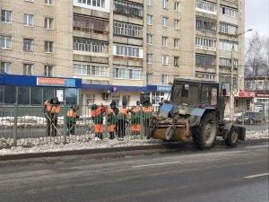 Город приводится в порядок после зимы