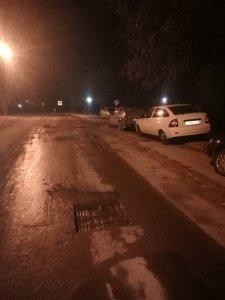 АО «Дорэкс» продолжает ямочный ремонт дорожного покрытия