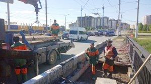 Нормативное состояние моста на пр. Тракторостроителей восстанавливается