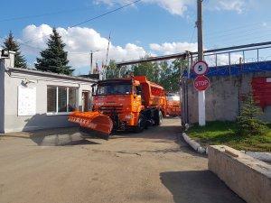 """В АО """"Дорэкс"""" прибыла новая спецтехника"""