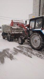 Боремся с последствиями снегопада
