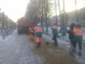 По сей день ведутся работы по ликвидации последствий ледяного дождя