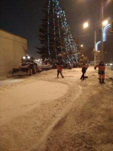 Снегопад в ночь на 13 января