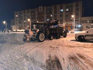 Снегопад в ночь с 2 на 3 февраля
