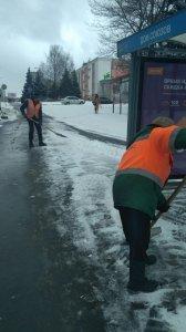 Ликвидация последствий снегопада