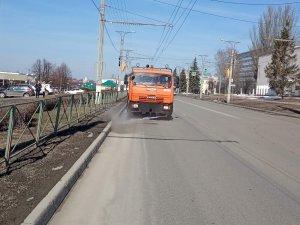 Приведение улично-дорожной сети города Чебоксары  в надлежащее состояние после зимнего периода 2020 г.
