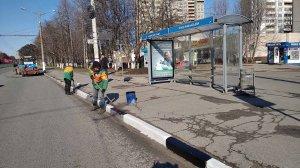 Усиление работ по преображению города после зимнего периода.