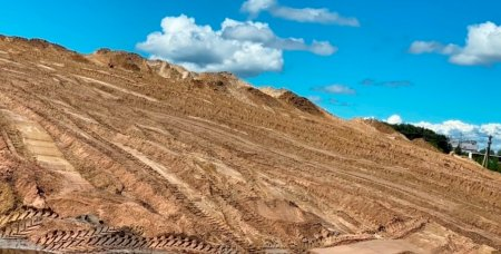 Заготовка песчано-соляной смеси.