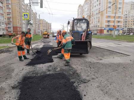 Подготовка к дню города Чебоксары.