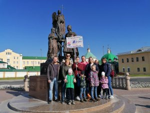 Работники АО «Дорэкс» отметили международный день ходьбы