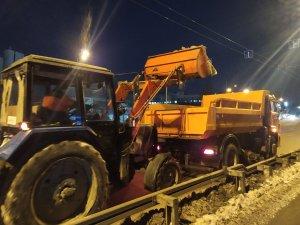 Работы в соответствии с зимним регламентом