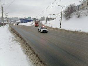 Снегоуборочные работы ведутся совместно с ГИБДД