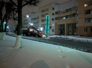 Снегопад продолжается