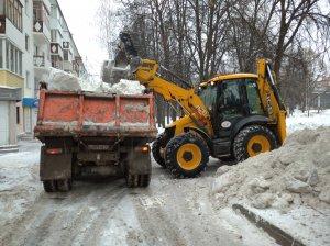 Подготовка к снегопаду