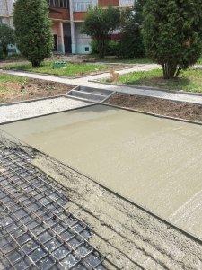 Текущие работы службы по строительству и ремонту дорог