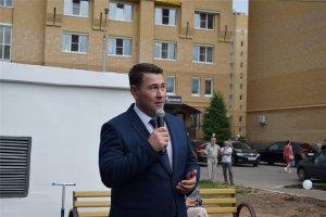 Открытие нового дворового пространства домов 38/1 и 38/2 по улице Университетская